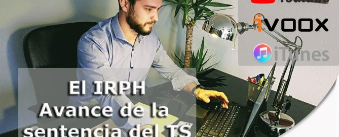 videopodcast sobre IRPH