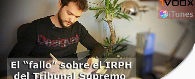 videopodcast sobre sentencia IRPH