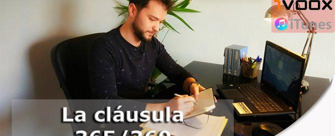 Foto web clausula 365/360