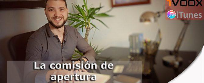 Comision apertura web