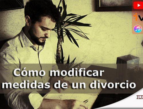 Cómo modificar las medidas de un divorcio