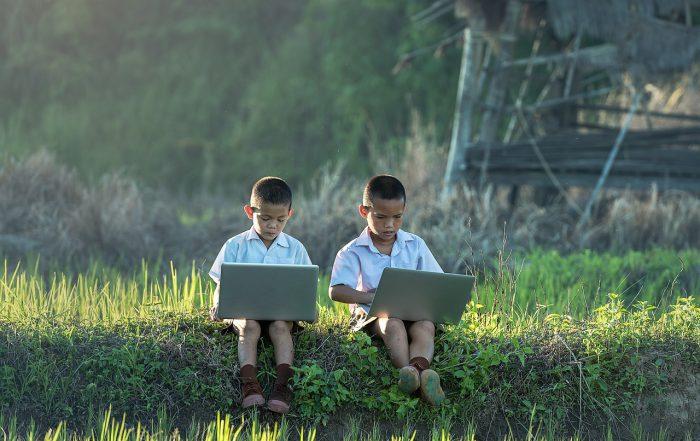Niños y las redes sociales
